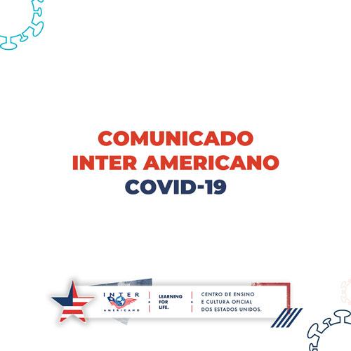 comunicado covid 19 inter americano